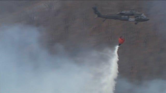 Aerial Assault A Huge Help In Battling Oklahoma Wildfires