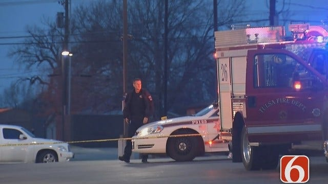 Tulsa Police Search For Suspect Who Shot Man In Head