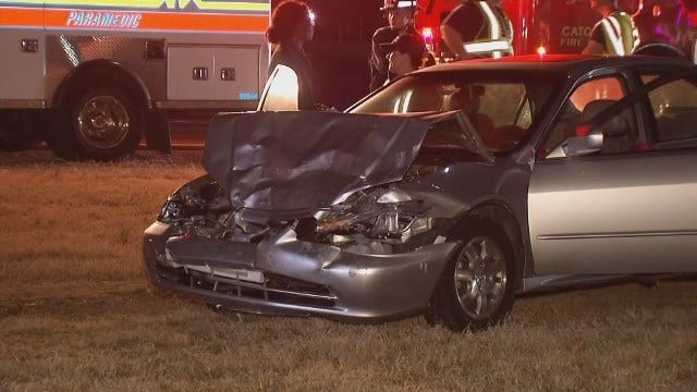 Driver Cited In Catoosa Rear-End Collision