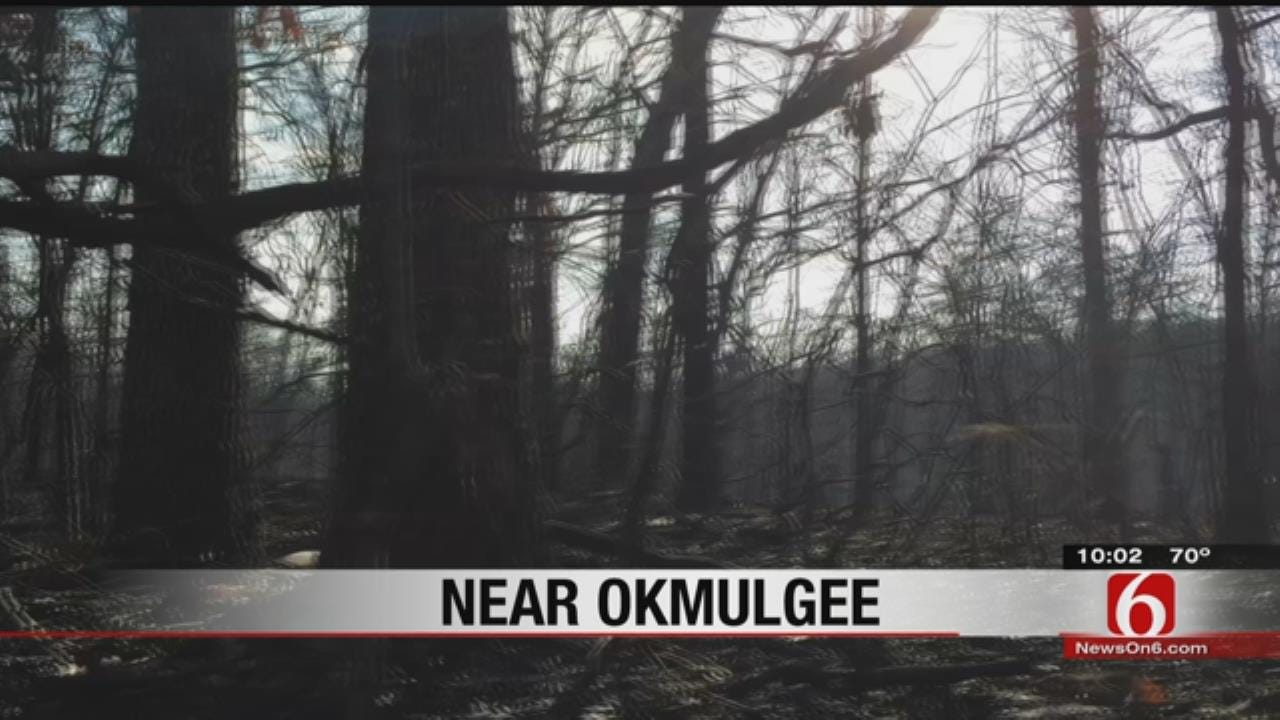 Okmulgee County Wildfires Contained, Officials Say
