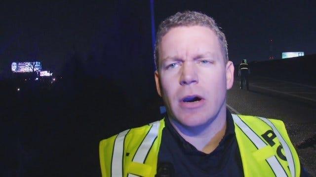 WEB EXTRA: Tulsa Police Officer Tim Cronin Talks About Crash