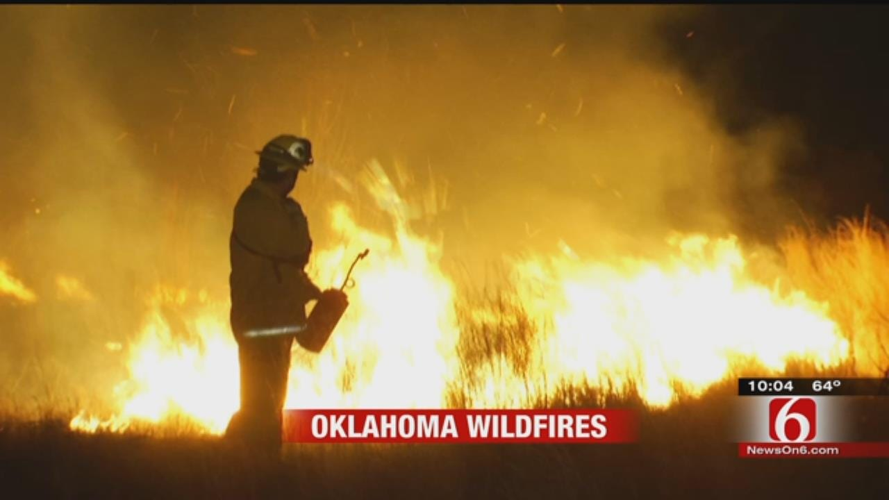 OK Forestry Department Anticipating High Burn Numbers Following Wildfires