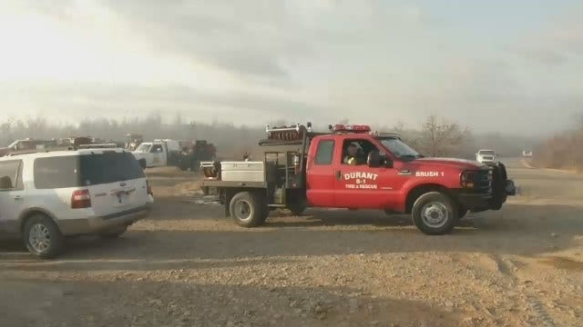 Authorities: Pittsburg County Grass Fire Intentionally Set