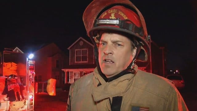WEB EXTRA: Fire Captain Mike Burgess Talks About Duplex Fire