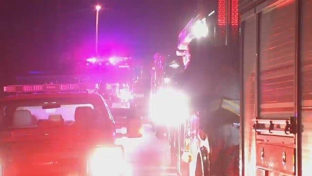 WEB EXTRA: Family Of Four Escapes Tulsa Duplex Fire