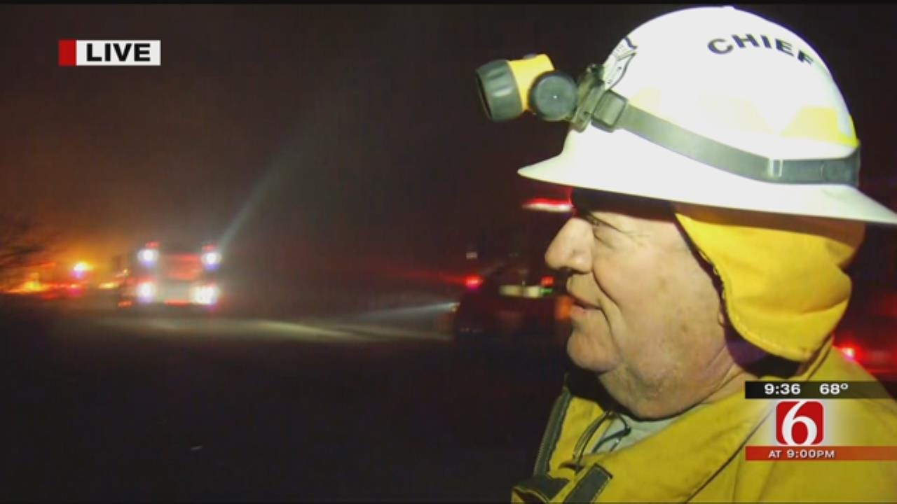 Allison Harris: Fire Chief On Battling Brooken Mountain Fire