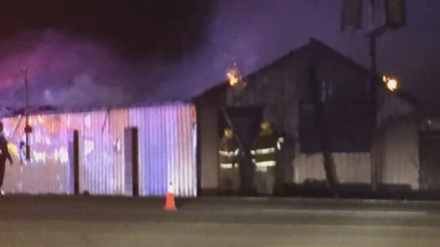 Former Coweta Pawn Shop Destroyed By Fire