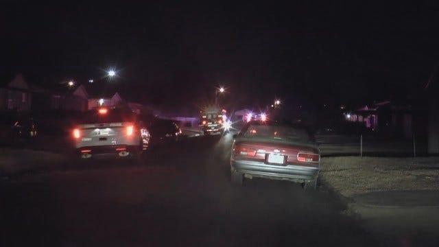 WEB EXTRA: Fatal Shooting Scene At Tulsa Home