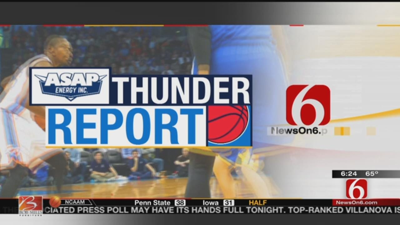 Thunder Report: OKC Prepares For Pacers