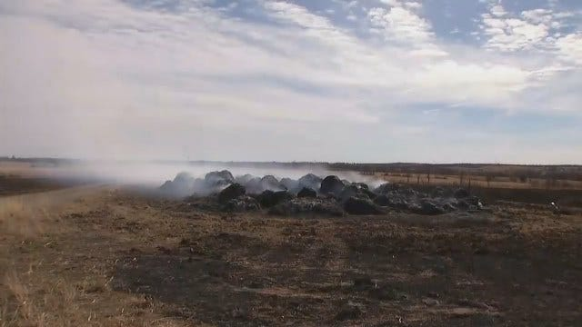 High Fire Dangers Draining Energy, Resources, From OK Volunteer Stations