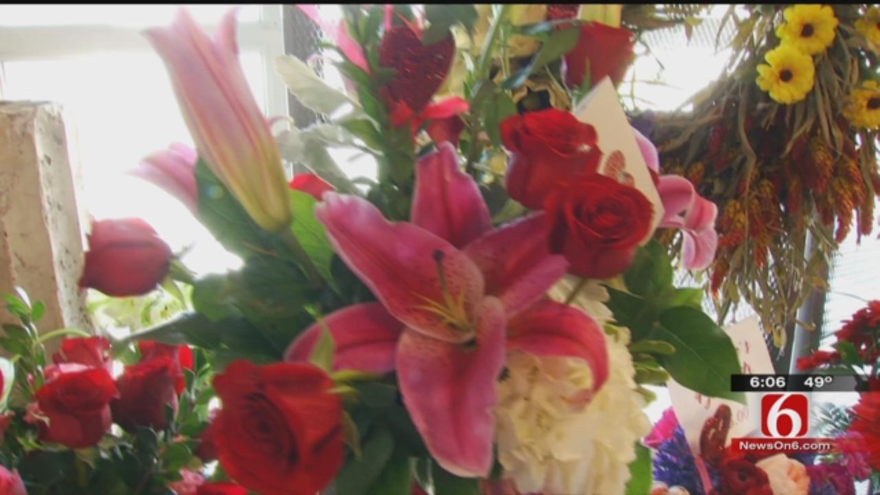 Tulsa Flower Shop Bustling In Valentine's Day Rush