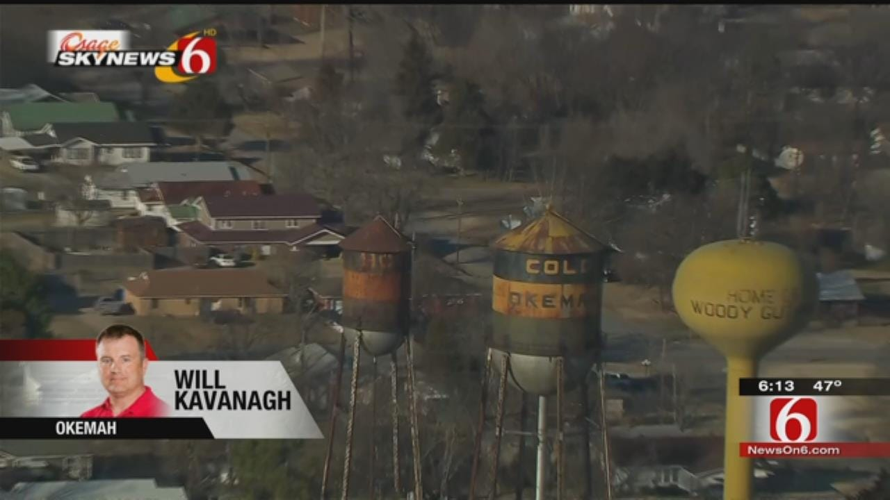 Petition Created To Save Hot, Cold Okemah Water Towers