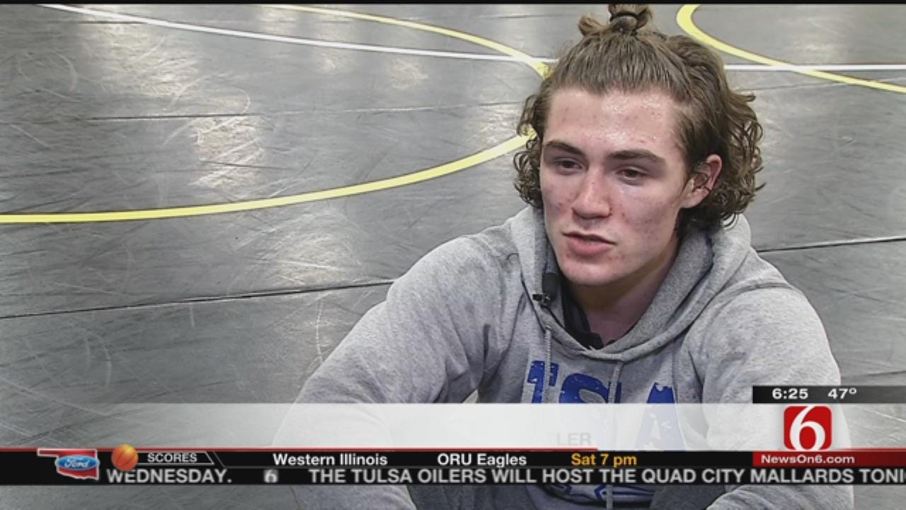 Sand Springs H.S. Wrestler Achieves National Success