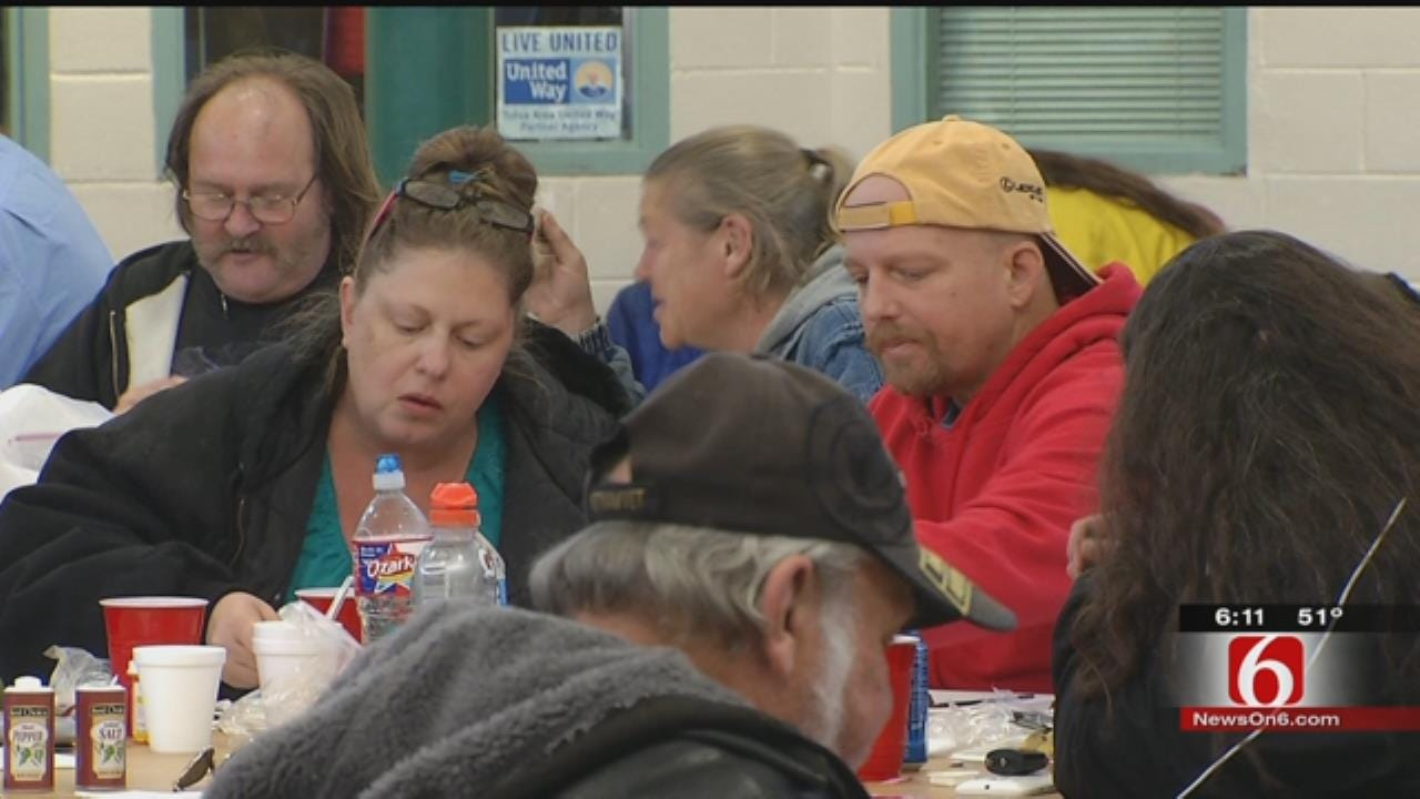 Nonprofits, Businesses Serve Valentine's Day Lunch To Tulsans In Need