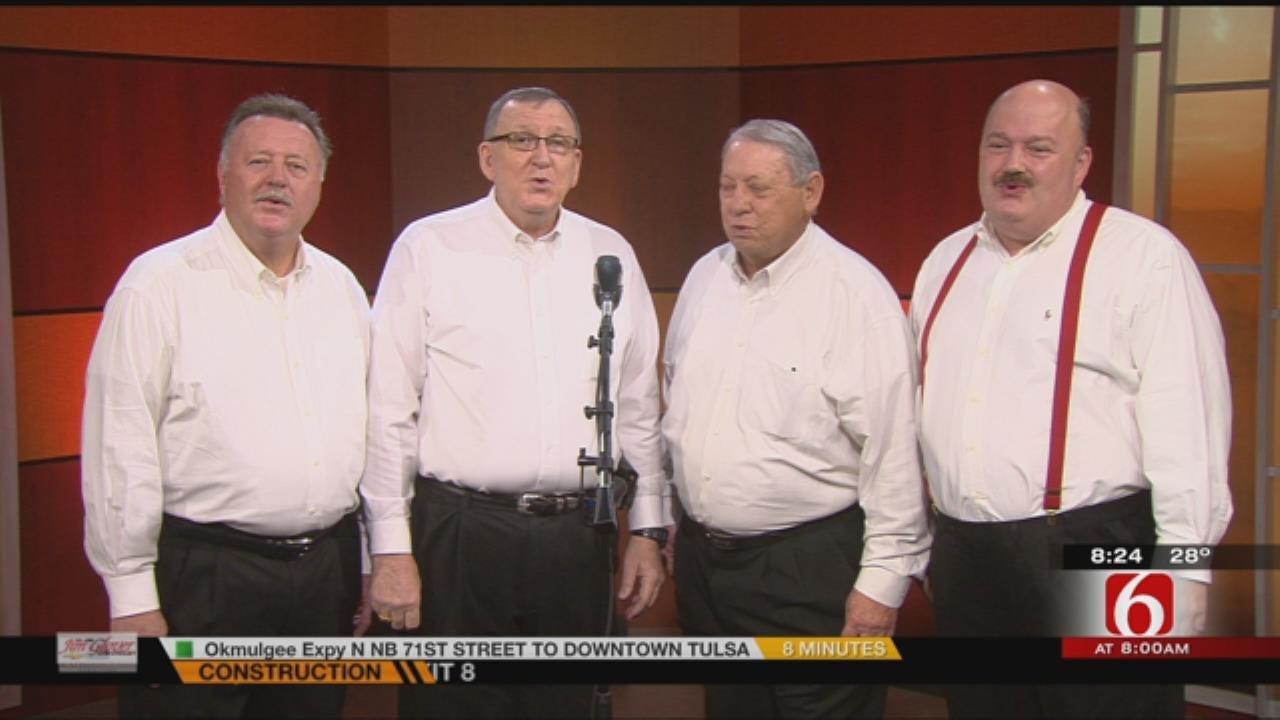 Tulsa Tones Quartet Ready For Valentine's Day