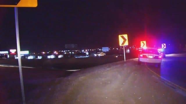 WEB EXTRA: DUI Crash At Broken Arrow Expressway And Highway 169