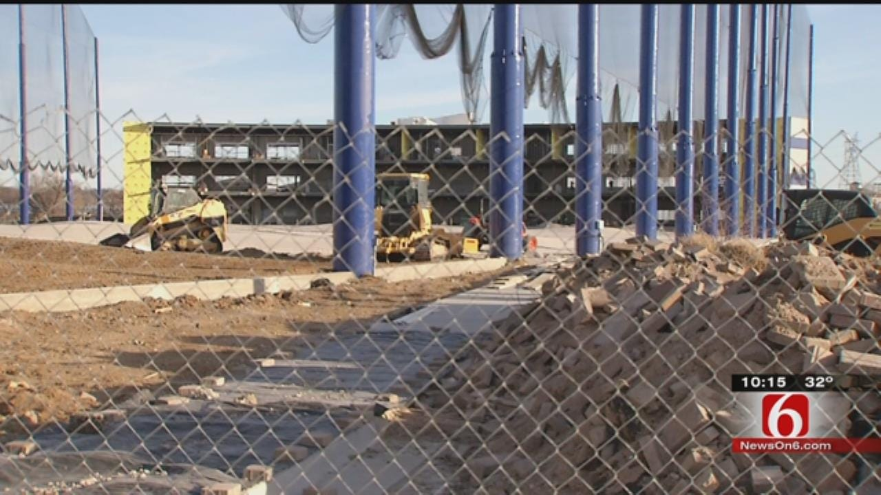 Construction Continues At Flying Tee In Jenks