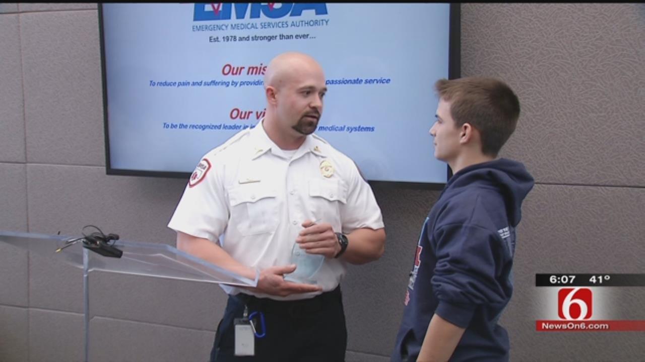 EMSA Honors 13-Year-Old 'Everyday Hero'