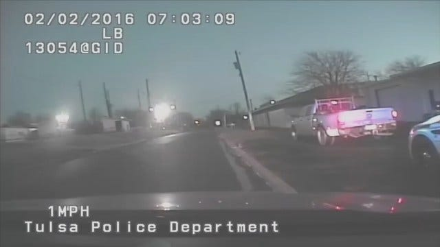 WEB EXTRA: TPD Release Dashcam Video Of Chase