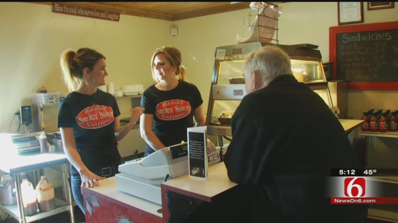 Wagoner Sisters Serve Up Bar-B-Que With The Best