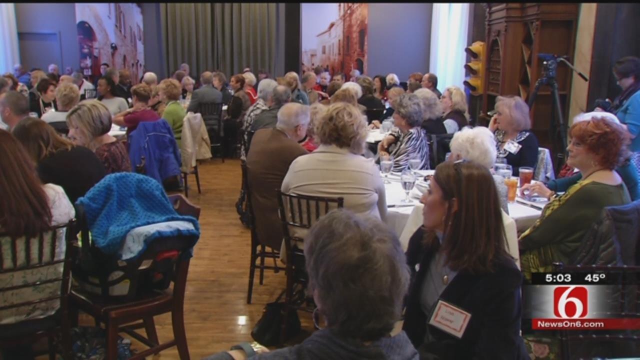 Tulsa County Sheriff Candidates Speak At Republican Women's Club