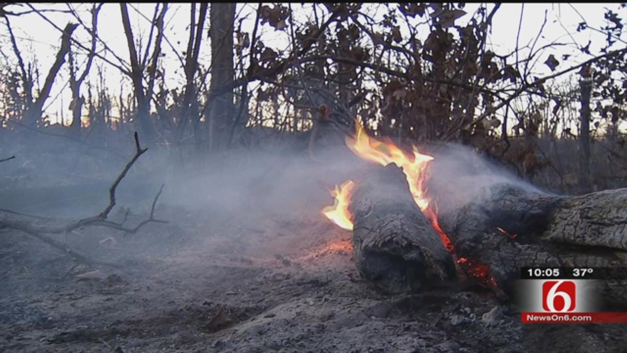 Wildfire Gives Mannford Residents Flashback To 2012 Fires