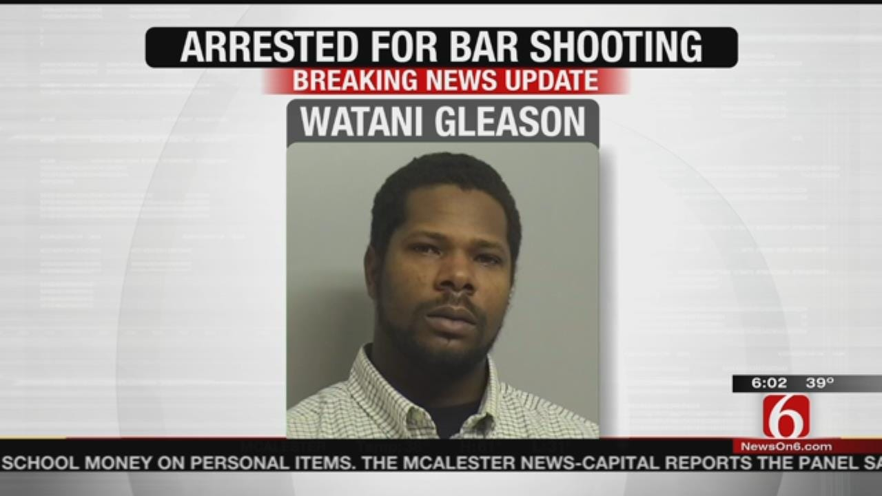 Police Arrest Suspect In Tulsa Bar Shooting; Victim Clinging To Life