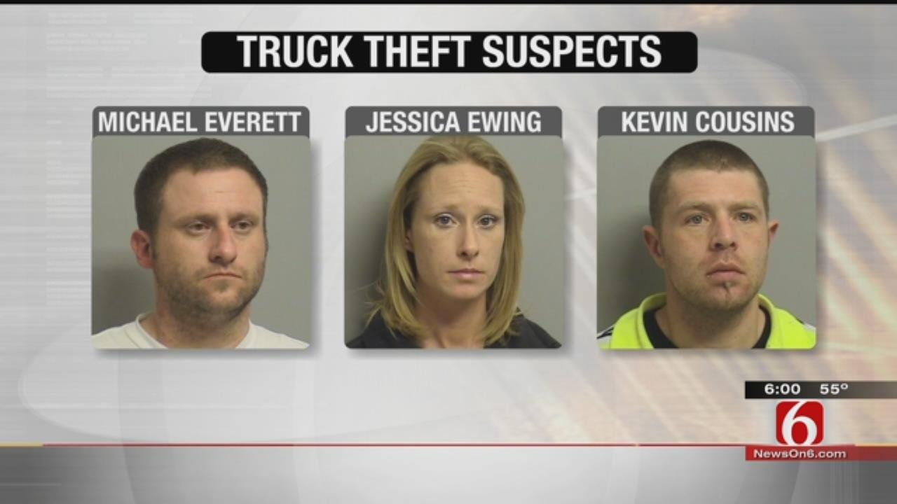 Social Media Helps Catch Stolen Truck Suspects, Police Say