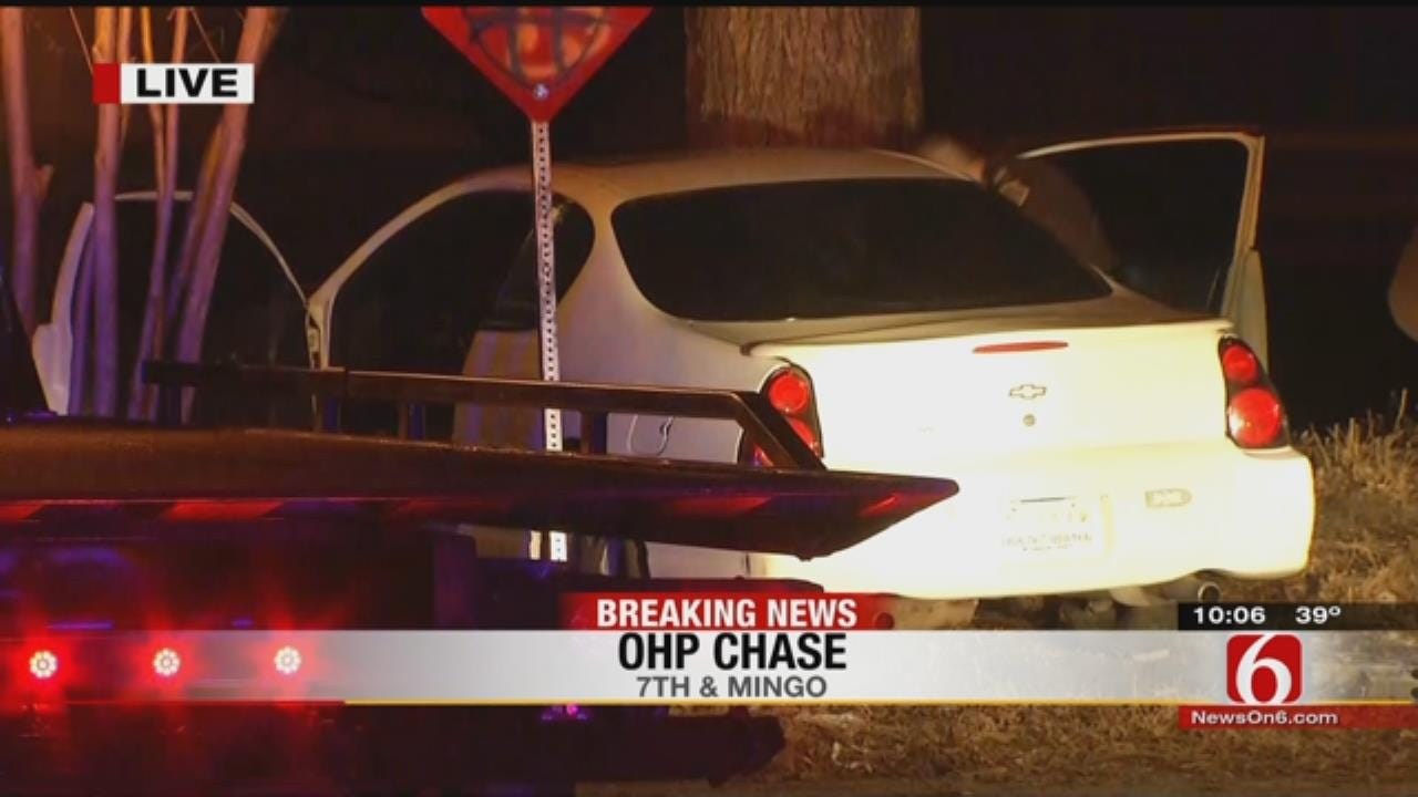 OHP: Adult, Three Teens Arrested After High-Speed Chase In Stolen Car