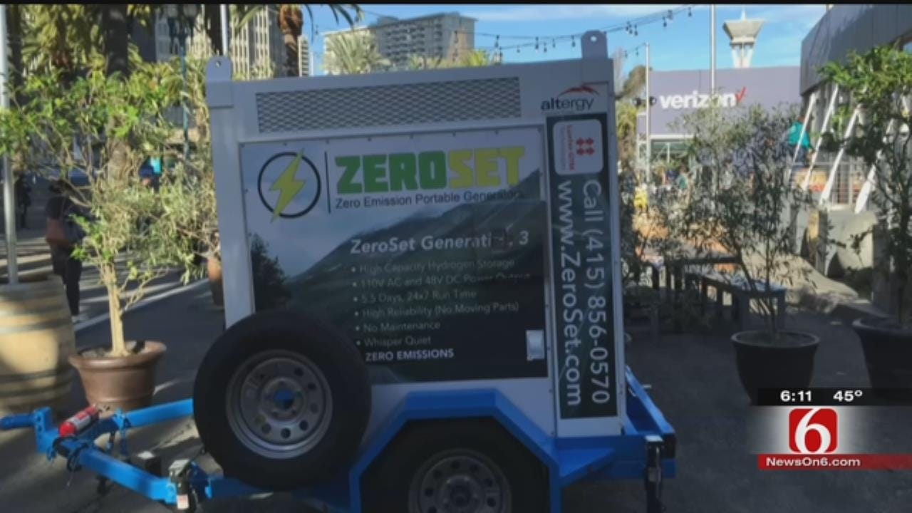 Hydrogen-Powered Generators Made In Tulsa Used At Super Bowl