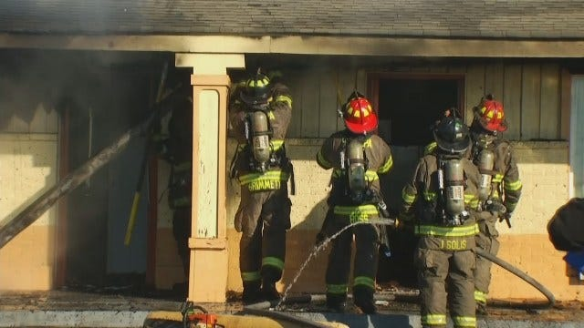 Child Playing With Lighter Blamed For Sapulpa Motel Fire