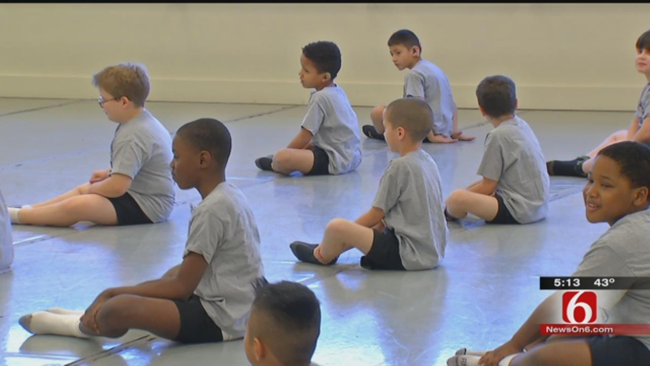 Tulsa Students Taking Ballet Lessons To Increase Physical Activity