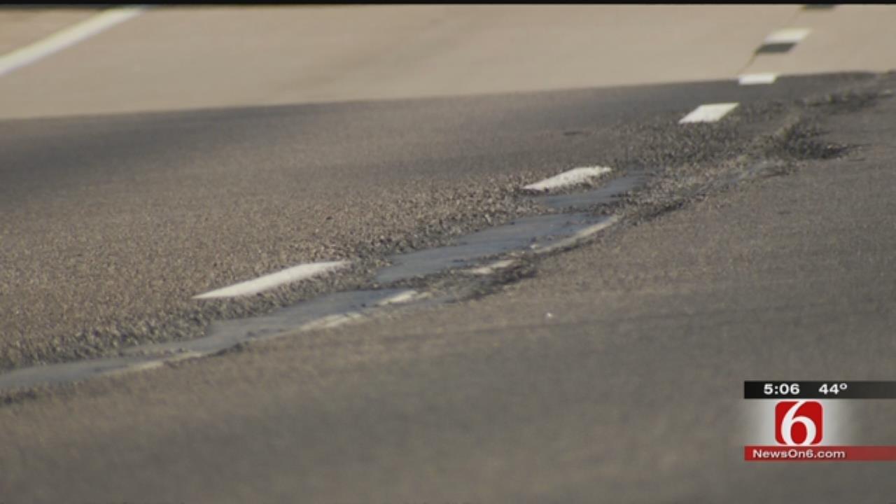 Highway 412 Near Catoosa Already Has Potholes After Recent Resurfacing