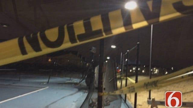Woman Crashes SUV Onto University Of Tulsa Tennis Courts