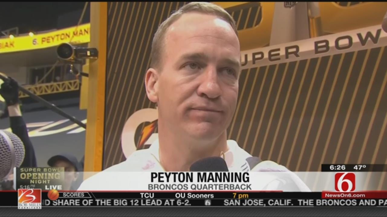 Manning, Newton On Playing In Super Bowl 50