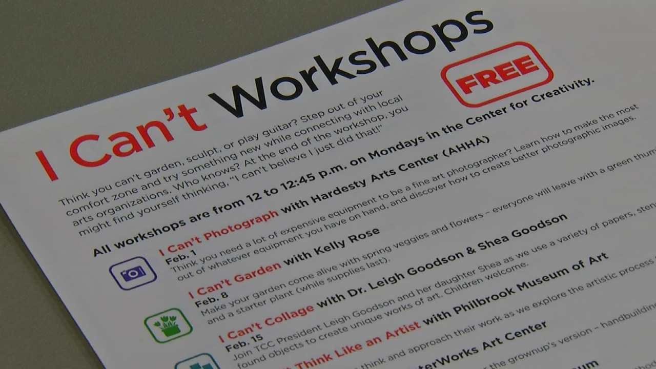TCC Workshops Aim To Turn 'I Can't' Into 'I Can'