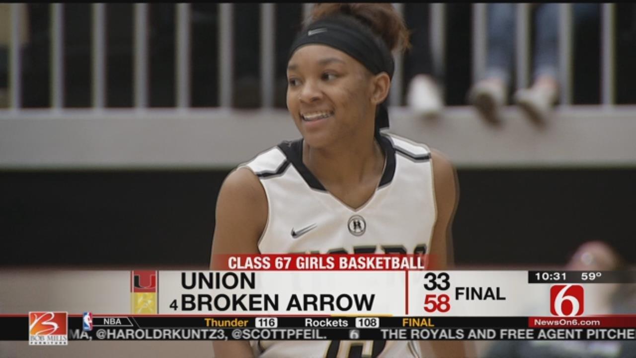 High School Hoops: Broken Arrow vs. Union