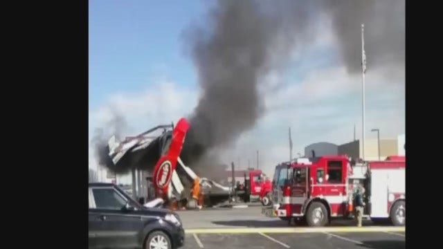 WEB EXTRA: Video Of The Fire From Crystal Abel