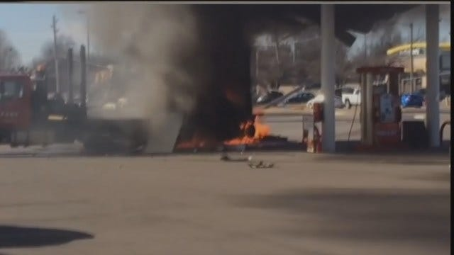 WEB EXTRA: Viewer Submitted Video Of The Fire