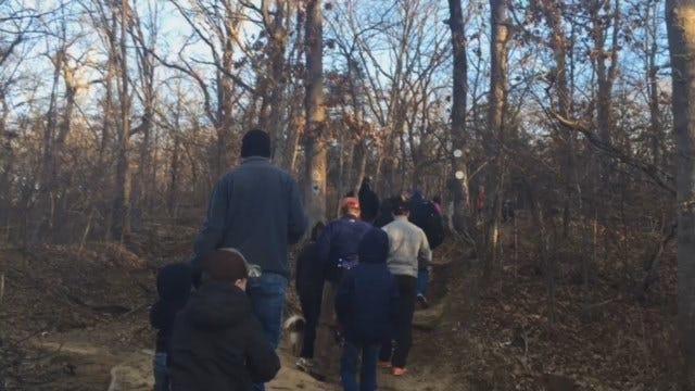 Hiking The Trails At Tulsa's Turkey Mountain Urban Wilderness