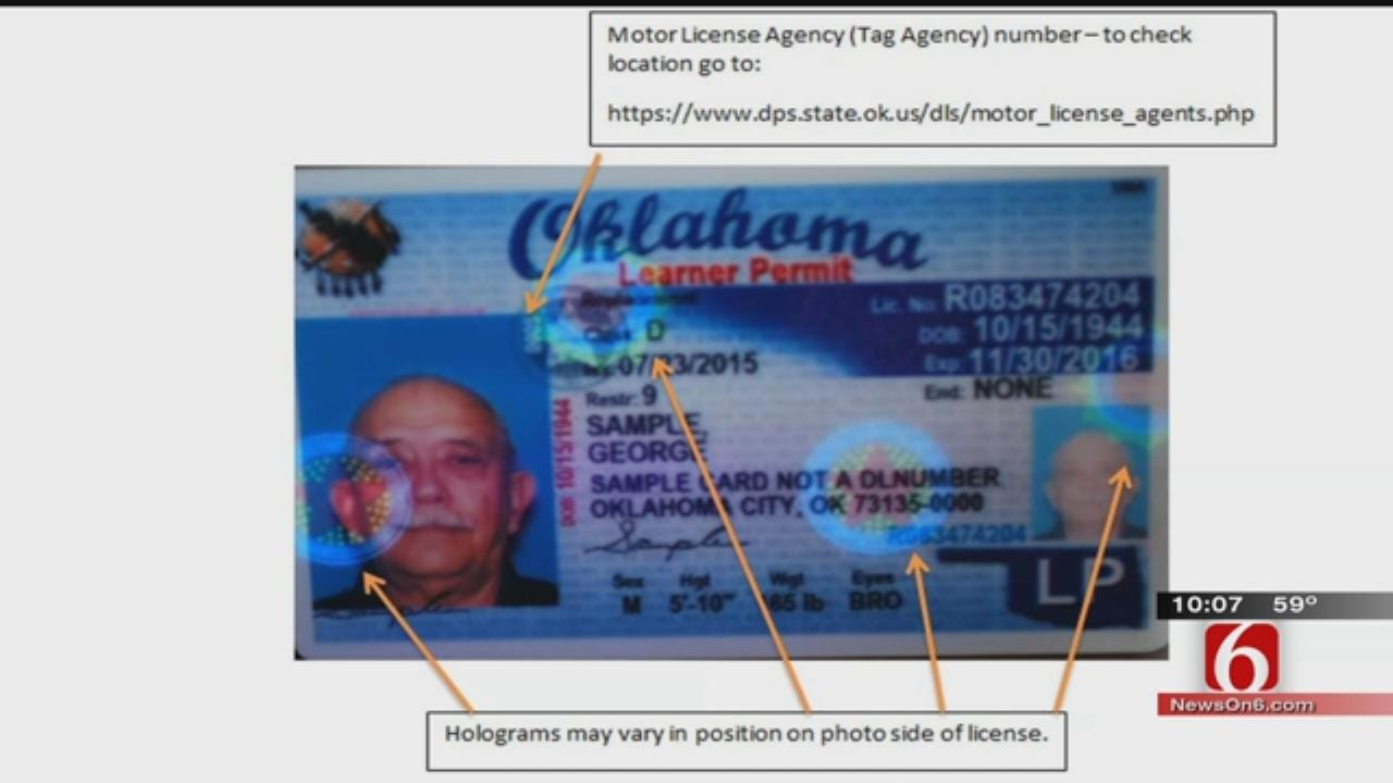 Security Feature Missing From Some OK Driver's Licenses, OHP Says