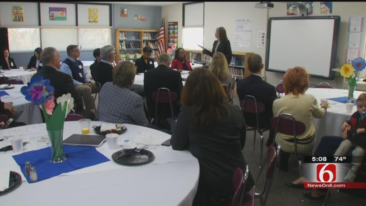 Oklahoma Lawmakers, Educators Discuss Budget, Education Cuts