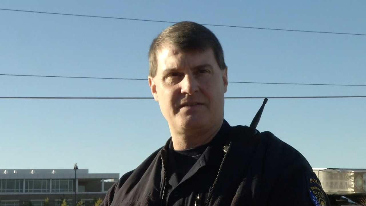 WEB EXTRA: Broken Arrow Police Cpl. Leon Calhoun Talks About Threat Investigation