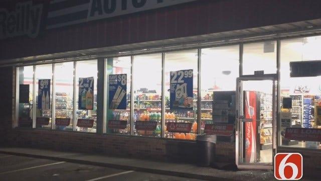 WEB EXTRA: Burglars Hit Two Tulsa Auto Parts Stores