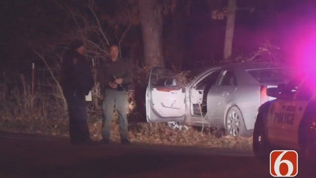 WEB EXTRA: Dave Davis Reports On Sand Springs Police Chase