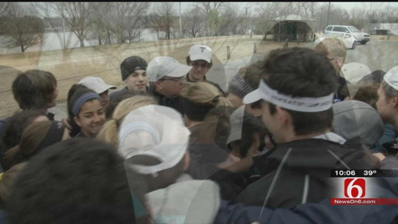 WEB EXTRA: Despite Fire, Tulsa Rowing Team Keeps High Spirits