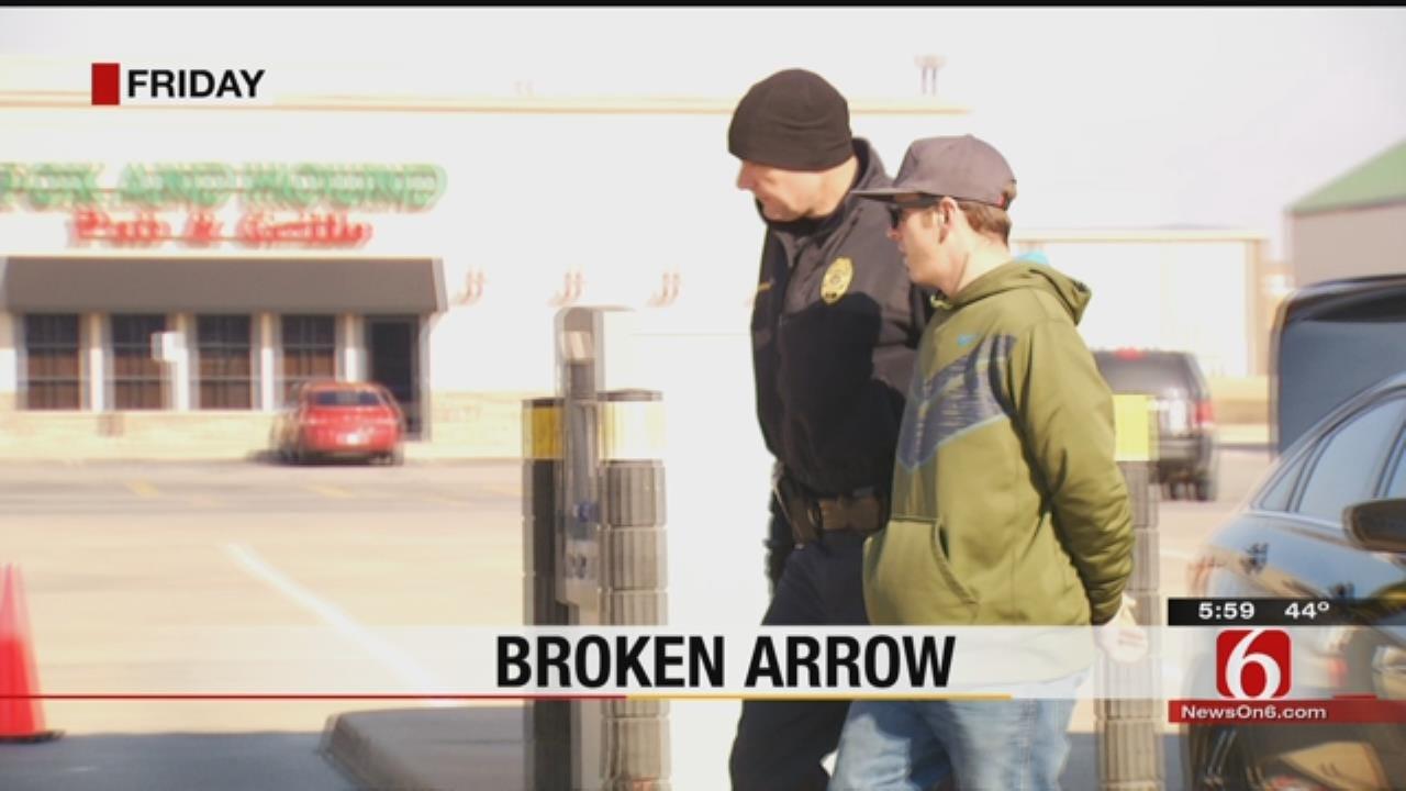 Police Arrest Man Connected To BA, Tulsa, Claremore Crimes