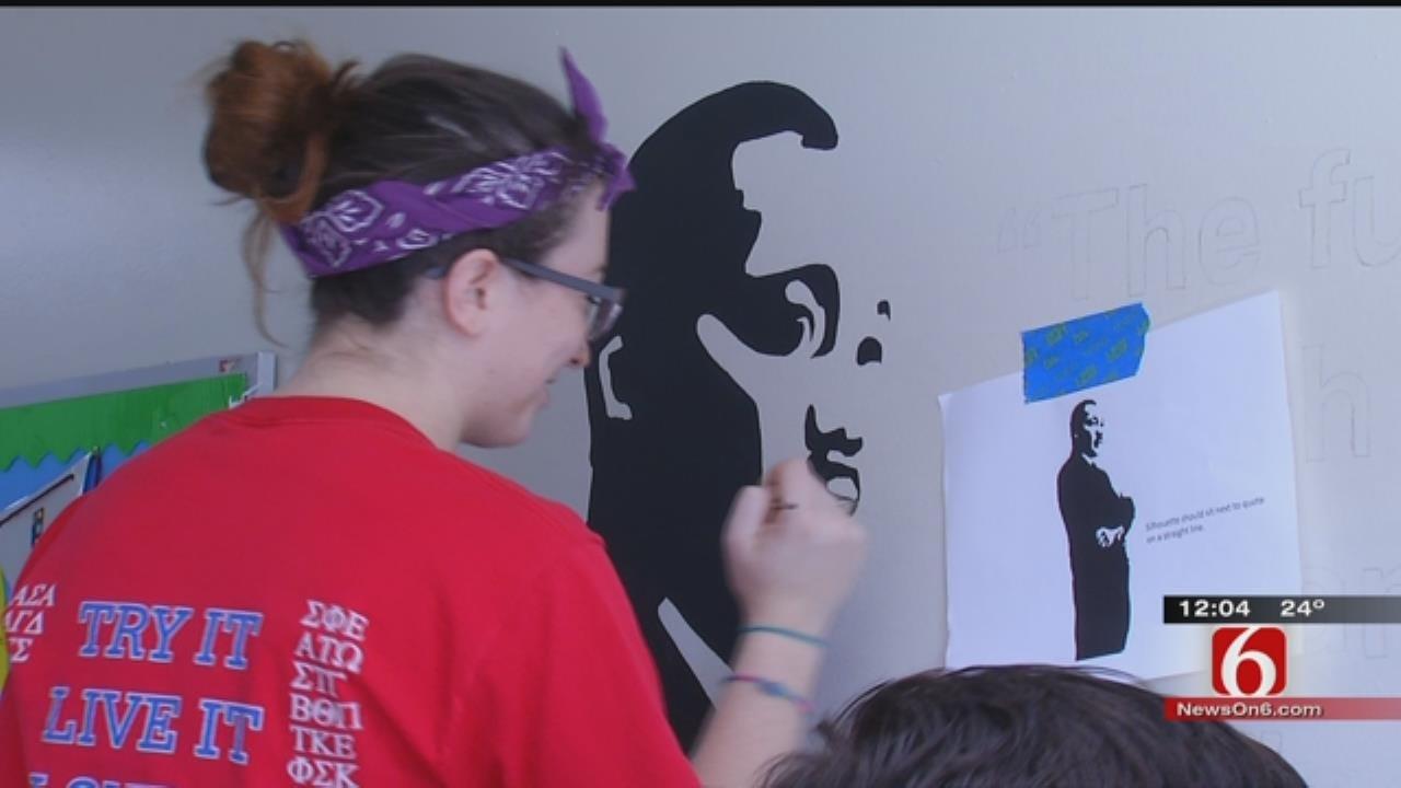 Volunteers Help Tulsa School In MLK Jr. Day Of Service
