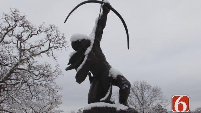 WEB EXTRA: Snow Scenes Around Tulsa