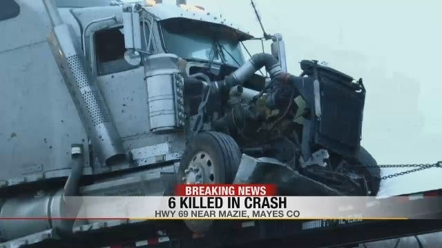 Mayes County Wreck Kills 6
